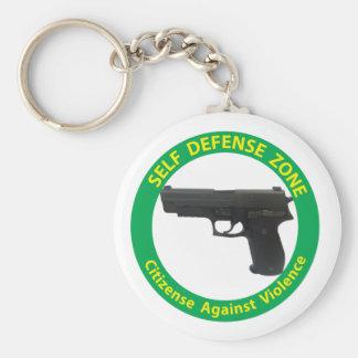 Self Defense Zone-Violence Keychain