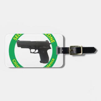 Self Defense Zone-Violence Luggage Tag