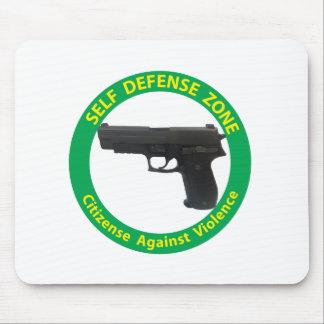 Self Defense Zone-Violence Mouse Pad