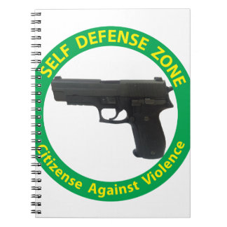 Self Defense Zone-Violence Notebook