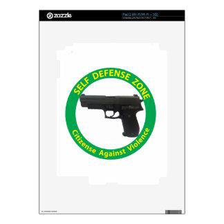 Self Defense Zone-Violence Skin For The iPad 2