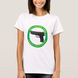 Self Defense Zone-Violence T-Shirt