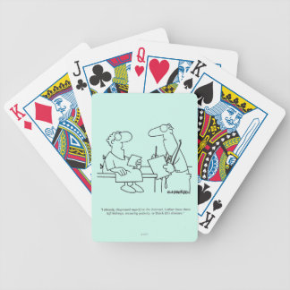 Self-Diagnosis Bicycle Playing Cards