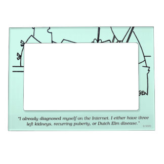 Self-Diagnosis Magnetic Photo Frame