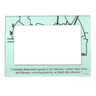 Self-Diagnosis Magnetic Photo Frames