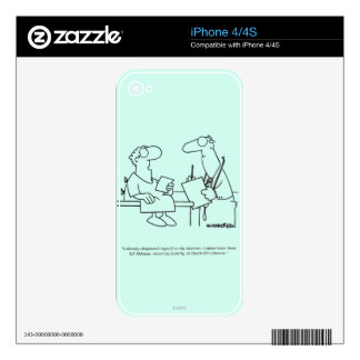 Self-Diagnosis Skins For iPhone 4S