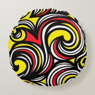Self-Disciplined Angelic Fair-Minded Quick Round Pillow