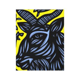 Self-Disciplined Passionate Prepared Energized Canvas Print