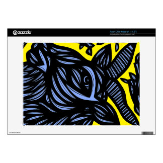 Self-Disciplined Passionate Prepared Energized Decal For Acer Chromebook