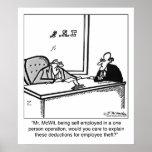 Self Employed & Employee Theft Print