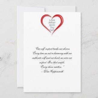 Self Esteem Card