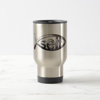 Self Fish 15 Oz Stainless Steel Travel Mug