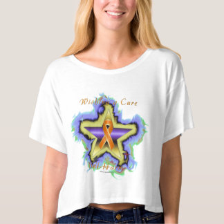 Self Harm Wish Star Ladies Crop Top