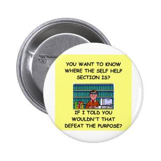 self help joke buttons