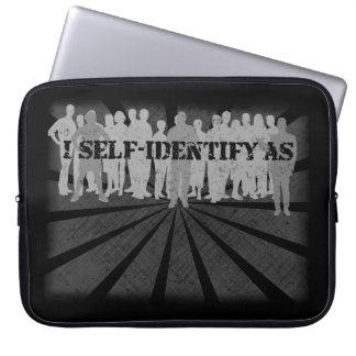 self-identify computer sleeve