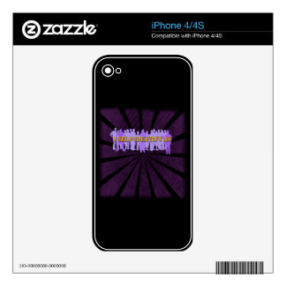 self-identify decal for iPhone 4