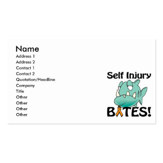 Self Injury BITES Business Card