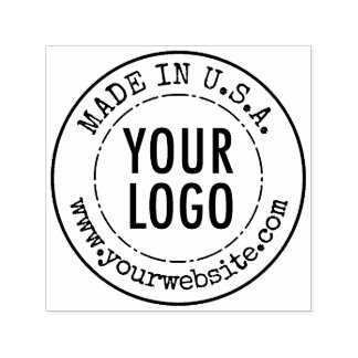 Self-Inking Rubber Stamp Made In Country of Origin