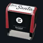 """Self Inking Santa Signature Stamp Kids Christmas<br><div class=""""desc"""">Use this fun self inking rubber stamp on all your Christmas gifts, cards, letters from Santa Claus, and presents to kids of all ages. It's a simple stamp that says, """"Love, Santa"""" in letters that look like handwritten script. You can change the font if you want, or change, add, or...</div>"""
