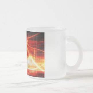 Self Learning Technology Artificial Intelligence Frosted Glass Coffee Mug