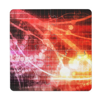 Self Learning Technology Artificial Intelligence Puzzle Coaster