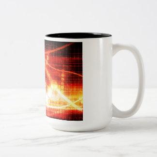Self Learning Technology Artificial Intelligence Two-Tone Coffee Mug