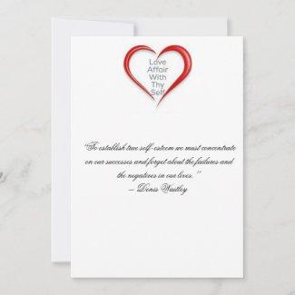 Self Love Encouragement Card