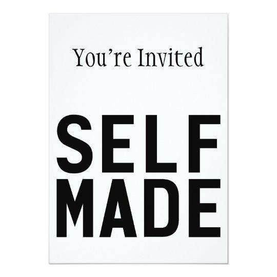 Self Made Independent Card