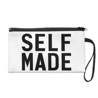 Self Made Independent Wristlet Purse