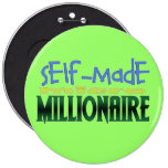 Self-Made (micro) Millionaire Button
