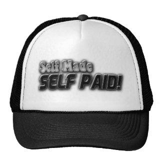Self Made Self Paid Hats