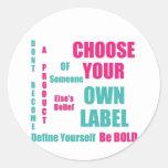 Self Made Sticker