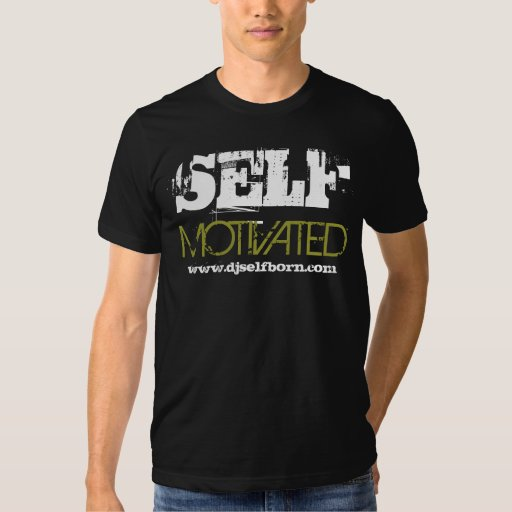 SELF MOTIVATED (Black) T-shirt
