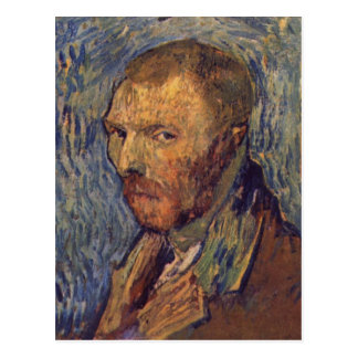 Self-mutilated ear portrait - Van Gogh Postcard