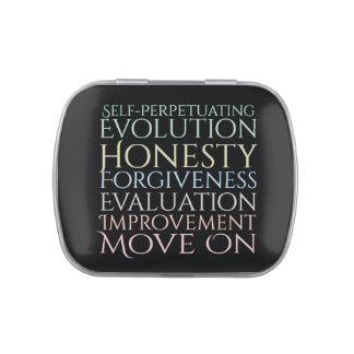 Self Perpetuating Evolution Keys Candy Tins