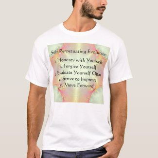 Self Perpetuating Evolution Taking Charge T-Shirt