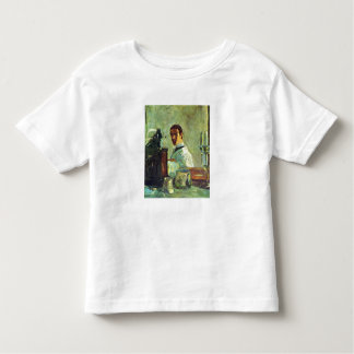Self Portrai looking in a Mirror -Toulouse-Lautrec Tee Shirts