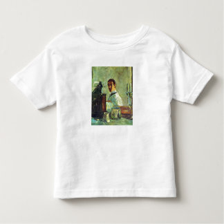 Self Portrai looking in a Mirror -Toulouse-Lautrec Tshirts