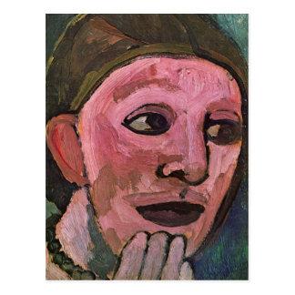 Self Portrain by Paula Modersohn-Becker Postcard