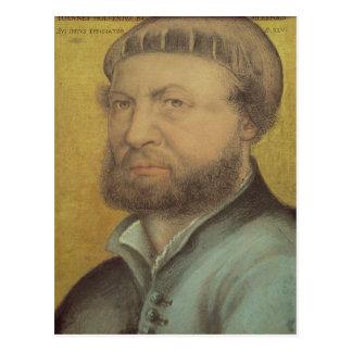 Self Portrait, 1542 Postcard