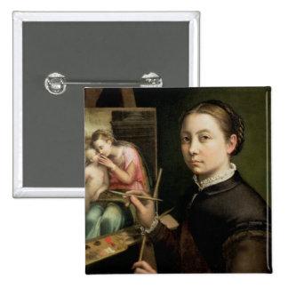 Self portrait, 1556 button