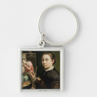Self portrait, 1556 keychain