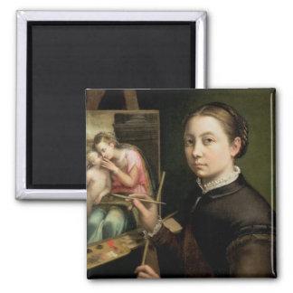 Self portrait, 1556 magnet