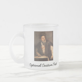 Self Portrait 1562 Frosted Glass Coffee Mug