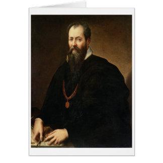 Self Portrait, 1566-68 (oil on canvas) Card