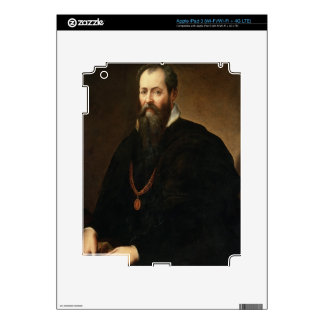 Self Portrait, 1566-68 (oil on canvas) iPad 3 Decal