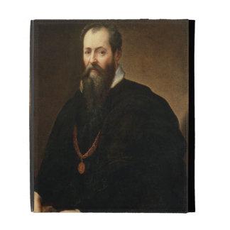 Self Portrait, 1566-68 (oil on canvas) iPad Folio Case