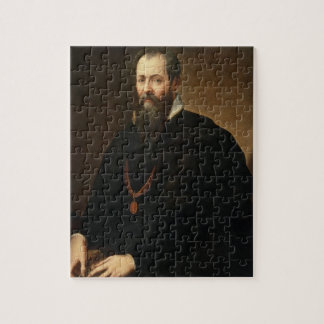 Self Portrait, 1566-68 (oil on canvas) Jigsaw Puzzle