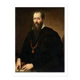 Self Portrait, 1566-68 (oil on canvas) Postcard