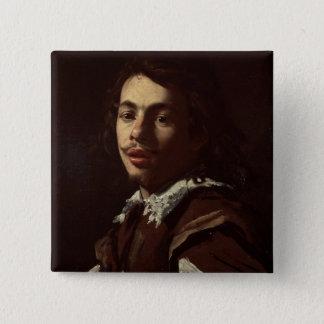 Self Portrait, 1620 (oil on canvas) Pinback Button